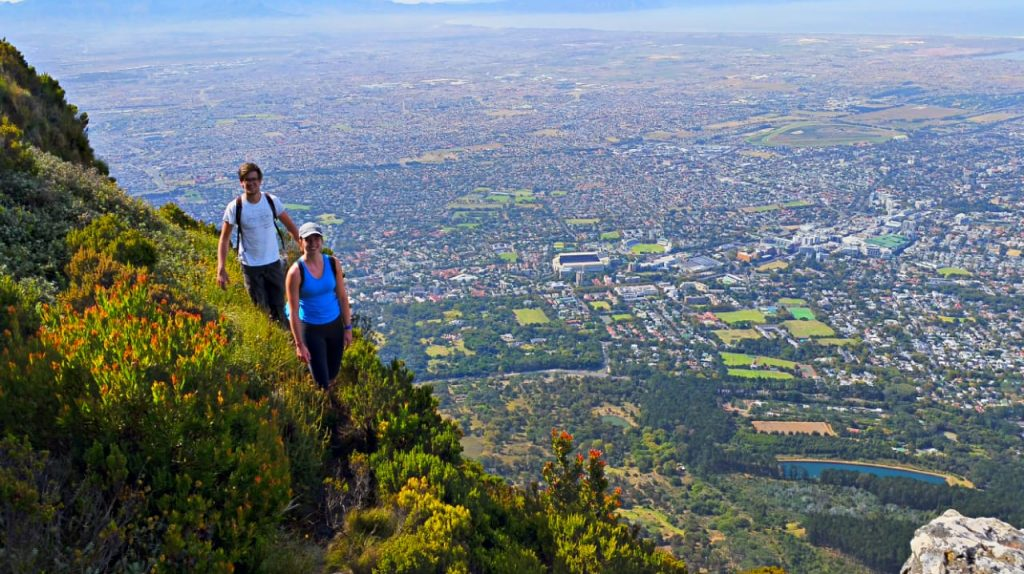 Devil's Peak - Table Mountain  Hiking Routes