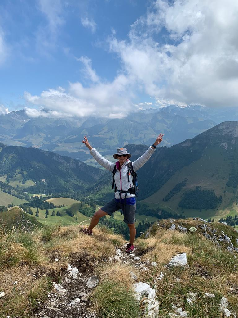 Spectacular summer hiking in Switzerland in the Alps