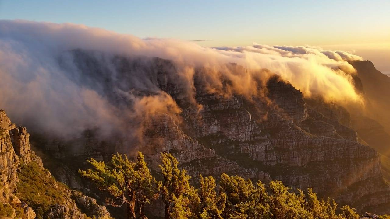 Fountain ledge - Table Mountain : Twelve Apostles - Sunset