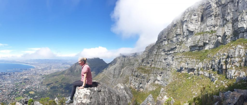 India Venster lookout - Table Mountain / Tafelberg - Cape Town / Kapstadt