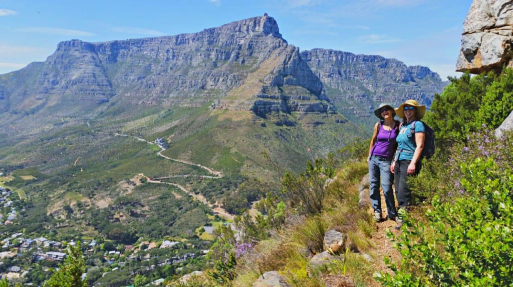 Lion's Head alternative route - Cape Town, Table Mountain Hiking Routes