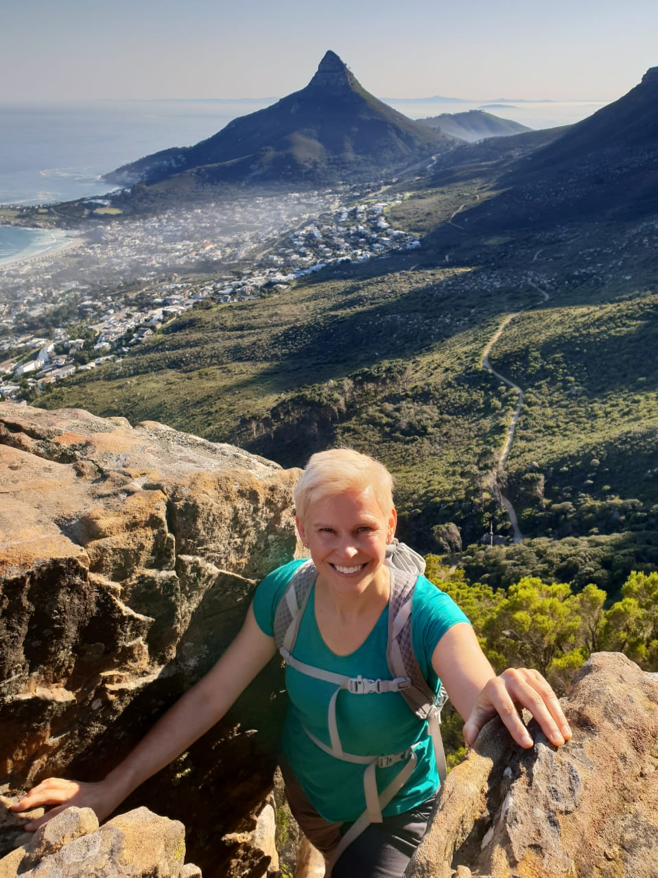 Lion's Head view from Wood Buttress with Nell Flanders