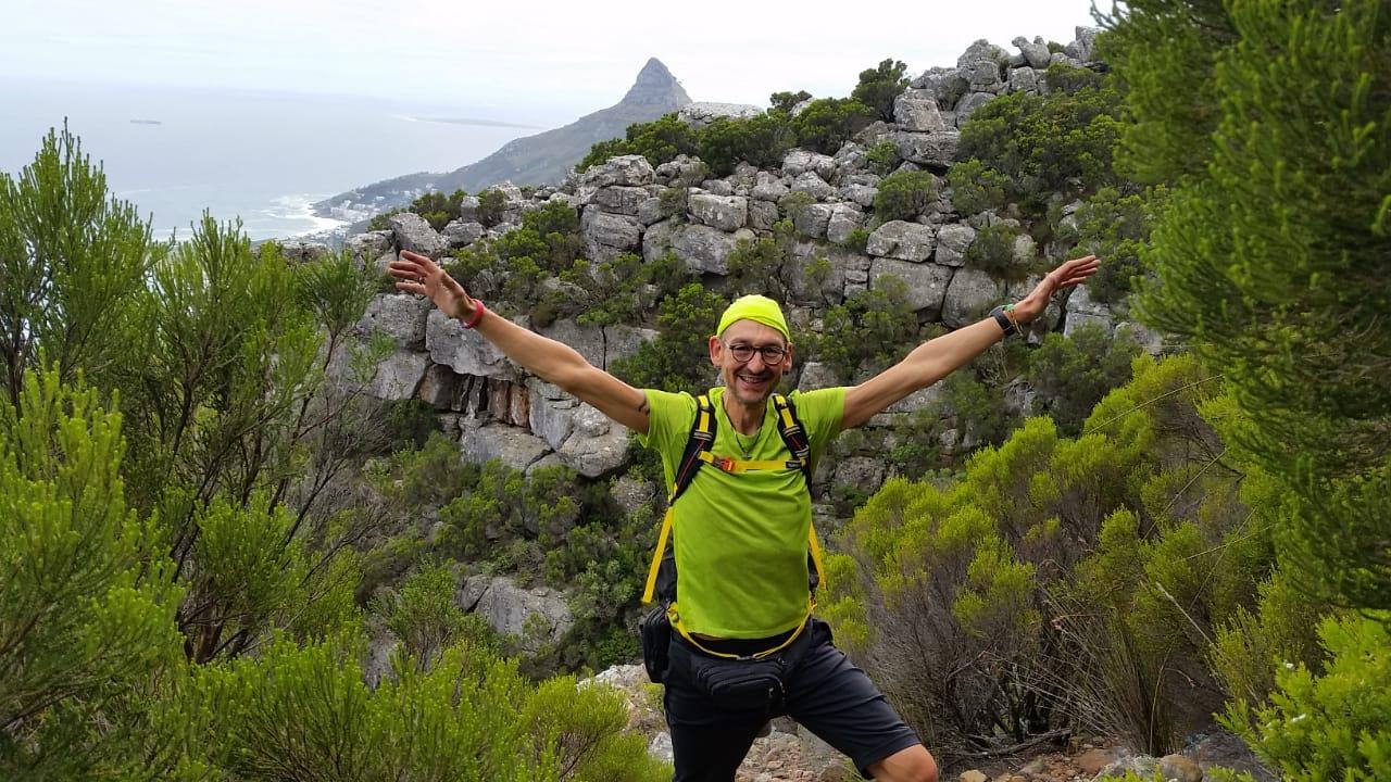 Wood Buttress - Lion's Head view - Table Mountain / Tafelberg - Cape Town / Kapstadt