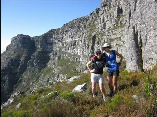 Left Face, Table Mountain,  with Maria Tien-du-Toit.